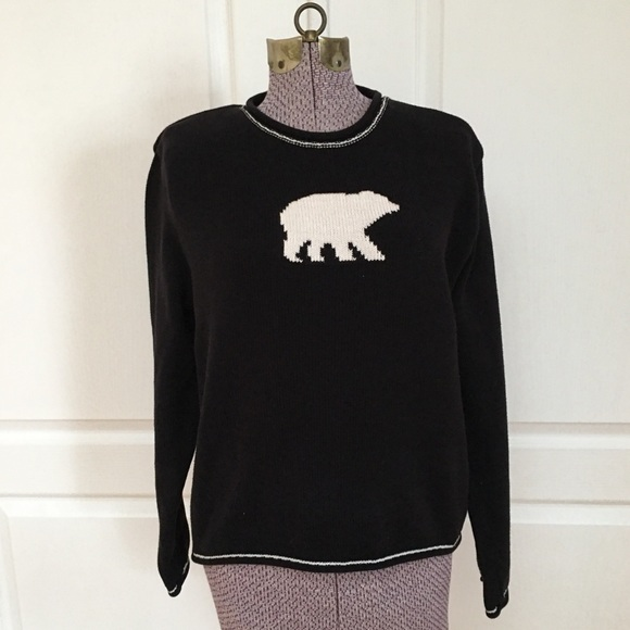 Cotton County by Parkhurst Polar Bear Sweater